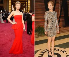 Why stop at one dress when you can have two? See which stars brought their fashion A game to the Academy Awards red carpet, only to switch up their looks later in the evening ...