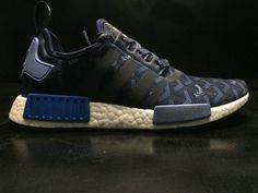 reputable site bb41d c229d 2018 New Fashion Popular Goyard X Adidas NMD R1 Boost Blue White BA7562 Shoe  Popular Sneakers