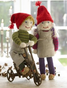 Knitting Dolls Free Patterns, Knitted Dolls Free, Scandi Christmas, Joy To The World, Christmas Knitting, All Things Christmas, Christmas Stockings, Doll Clothes, Knit Crochet