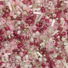 £1.49 Cherry Blossom Seed Bead Mix 10g