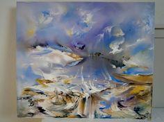 Call of the wild. Oil on canvas 60x70 | Artpopuli