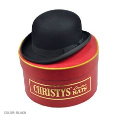 Christy's Bowler this is a cool hat made in england at the lovely price of $295. would be cool to have but not expecting it because the price but a similar hat would be cool