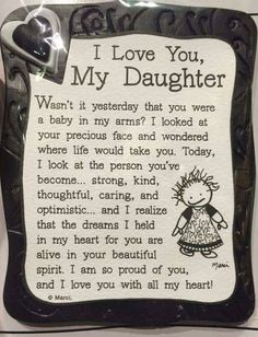 I Love My Daughter Quote Magnet quotes family daughter shop family quotes daughter quotes mom quotes buyable Mom Quotes From Daughter, I Love My Daughter, My Beautiful Daughter, My Love, Happy Birthday Daughter Quotes, Mother Daughter Poems, Graduation Quotes For Daughter, Letter To My Daughter, Love My Kids