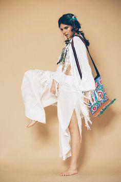 Kimono Bordado - Novidades