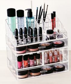 Make Up Organiser for your Vanity Set Up #TheBeautyAddict