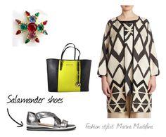 """Salamander base shoes 03"" by imagemaker-mustafina on Polyvore featuring мода, Marina Rinaldi, Michael Kors и Gripoix"
