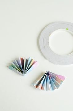 When I took a course with book binder, Linda Gimle, we warmed up by making traditional paper fans with her beautiful origami papers, and on to more advanced techniques. Since I like to share ideas here that are very simple and that everyone can do, I thought this would be a perfect way to personalize