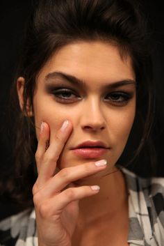 New Nail Art! See the Manicure Trends From the Spring 2015 Runways: Whether it's bold nail art or simple nude, there isn't a talon that heads down the runway untouched.