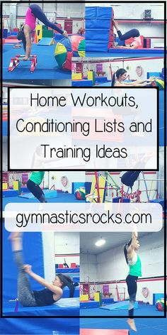 Four Gymnastics Conditioning Moves with One Easy Set-Up – Gymnastics Rocks!
