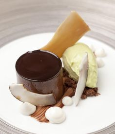 David Everitt-Matthias fully demonstrates his playful flair with this chocolate and brown butter ganache recipe.
