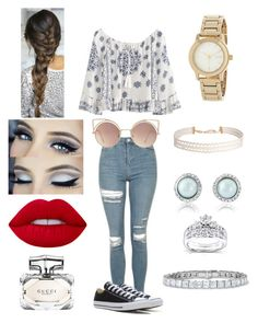 """""""Blow a kiss"""" by michelle-martinez890 on Polyvore featuring Topshop, Converse, Lime Crime, MANGO, Gucci, DKNY, Humble Chic and Kobelli"""