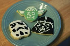Star Wars Cookies for Mooses 5th Birthday