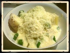 Simple baked potato yet delicious :9
