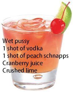 Juicy pussy drink