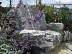 Limestone seat
