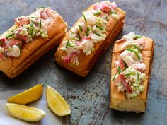 Buttery Lobster Rolls For Your Baby recipe from Jeff Mauro via Food Network