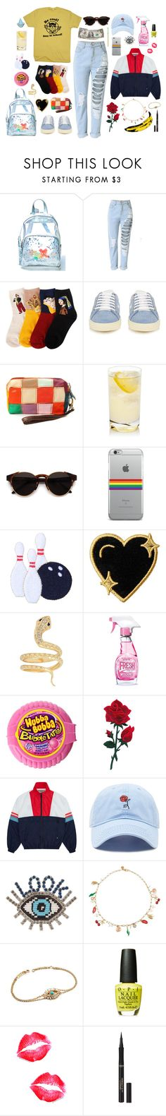 """My Style"" by hanolaughter ❤ liked on Polyvore featuring Current Mood, Yves Saint Laurent, RetroSuperFuture, Stoney Clover Lane, Iconery Basics, Moschino, Andy Warhol, Forever 21, Shourouk and Tory Burch"