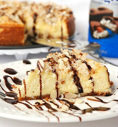 Almond Joy Cheesecake Recipe - Will Cook For Smiles