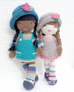 Mesmerizing Crochet an Amigurumi Rabbit Ideas. Lovely Crochet an Amigurumi Rabbit Ideas. Crochet Dolls Free Patterns, Crochet Doll Pattern, Amigurumi Patterns, Doll Patterns, Crochet Animals, Crochet Toys, Crochet Baby, Free Crochet, Knit Crochet