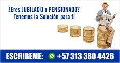 ¿Problemas económicos? Somos la mejor solución para ti. Infórmate: ✆ 313 380 4426   #CreditosPensionados #creditos #pensionados #jubilados #prestamos #PrestamosParaPensionados