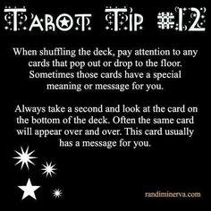 Tarot tip 12