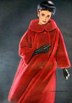 my vintage vogue 1960s Fashion, Fur Fashion, Timeless Fashion, Fashion Photo, Vintage Fashion, Vintage Vogue, Vintage Glamour, Vintage Outfits, Retro Outfits