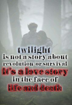 If you don't know what twilight is about ?