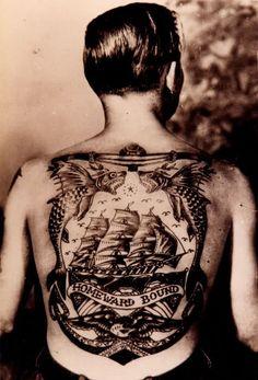 Tatuagens da década de 50