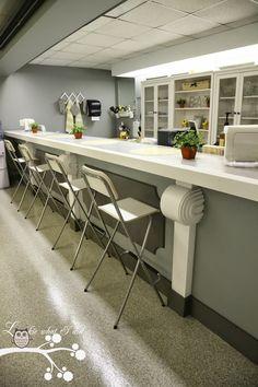 Teacher Lounge Makeover - Bar Area in Kitchen #ikea #calgary