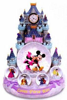 Disney Loves First Kiss Snowglobe