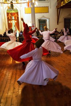 Sufi Dance Whirling Dervish Sufi Dancers