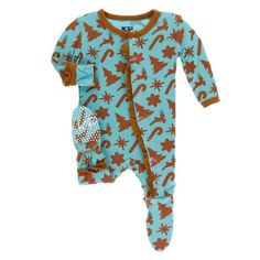 Kickee Pants Print Ruffle Layette Gown Converter and Double Knot Hat Set Rhododendron Pi/ñata