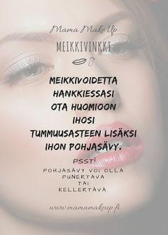 Meikkivoidevinkki Insta Story, Make Up, Movie Posters, Instagram, Film Poster, Makeup, Beauty Makeup, Bronzer Makeup, Billboard