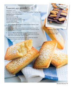 Tupperware France—page 11 Baking Recipes, Snack Recipes, Snacks, Strudel, Financier Recipe, Tupperware Pressure Cooker, Tupperware Recipes, Mexican Dessert Recipes, Cake Factory