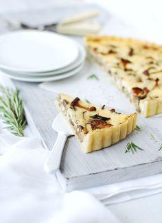 A Savory Tart [mélange de champignon] |