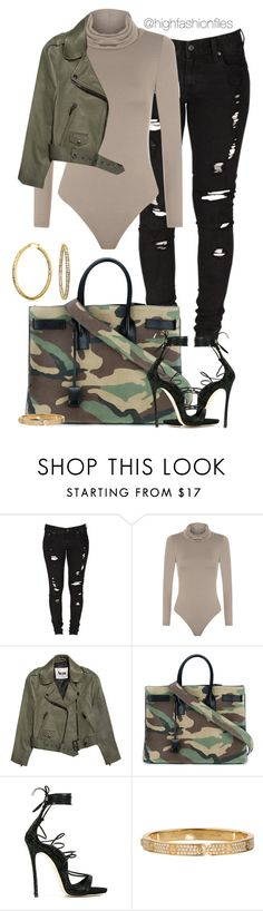 Feeling Camo by highfashionfiles on Polyvore featuring Acne Studios, Levi's, WearAll, Dsquared2, Bling Jewelry and Yves Saint Laurent