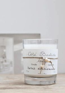 cote bastide rOses scented candle