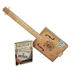 Hinkler EBB Electric Blues Box Slide Guitar Kit  Blues legends such as Jimi Hendrix, Robert Johnson, Muddy Waters, Lightning' Hop kinds and Carl Perkins bean their music careers playing cigar box guitars!  Over the last decade, there has be a resurgence and renewed interest in all things homemade, and a groundswell in cigar box instruments is well underway.  CD contains over 20 tracks!  There are hundreds of YouTube clips dedicated to playing the cigar box guitar