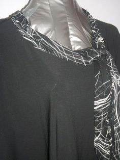 Love the scarf detail.  Suzie in the City - Sz 2X.  Lightweight and Comfortable.  http://stores.ebay.com/Classy-Fashions-and-Accessories?_trksid=p4340.l2563