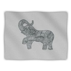 Kess InHouse Belinda Gillies Elephant Pet Blanket 40 by 30Inch * You can get more details by clicking on the image.
