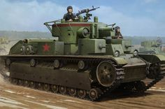 Model Hobby Boss 83852 Soviet T-28 Medium Tank (Welded)