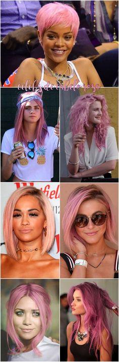 Vamos falar de cabelo rosa! - Fashionismo