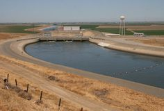 The California Aqueduct in the San JoaquinValley