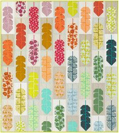 Fabric Strips, Fabric Squares, Quilting Templates, Quilt Patterns, Elizabeth Hartman Quilts, Free Spirit Fabrics, Cute Quilts, Andover Fabrics, Quilt Material