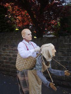 Stephen Jon Mask-Maker – Walk-about mask/puppet combo, 2008 Puppet Costume, Marionette Puppet, Mascot Costumes, Cosplay Costumes, Creative Halloween Costumes, Halloween Cosplay, Human Puppet, Gaudi, Puppets For Kids