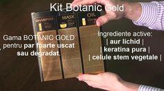 Unboxing si scurta prezentare KIT Botanic Gold - cristianfasie