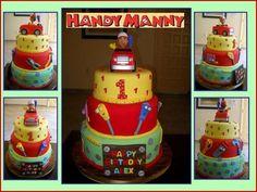 Handy manny Cake 1