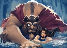 The Beauty and the Beast by ~lehuss on deviantART