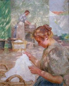 Luminism is a late-impressionist or neo-impressionist style in painting which devotes great attention to light effects