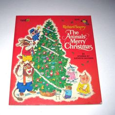 The Animals Merry Christmas By Richard Scarry, my favorite childhood Christmas book.